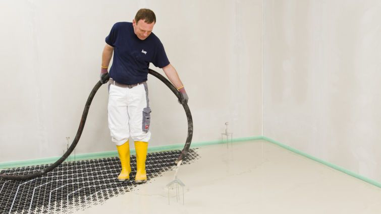 Fußboden Dämmung Styropor ~ Estrich dämmung für ruhe und wärme in den wohnräumen bauemotion