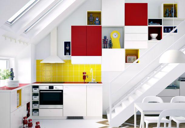 Platz da: Mehr Platz und Stauraum in kleinen Küchen - bauemotion.de