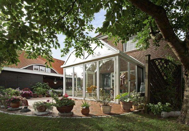 terrasse zum wintergarten umbauen. Black Bedroom Furniture Sets. Home Design Ideas