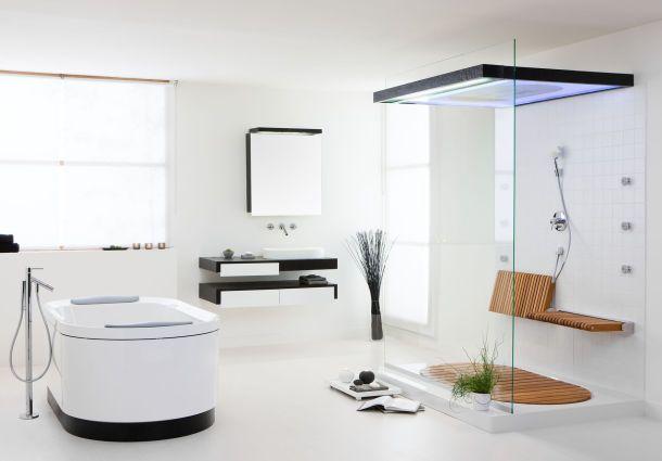 Dusche - praktische Lösung für die tägliche Pflege - bauemotion.de