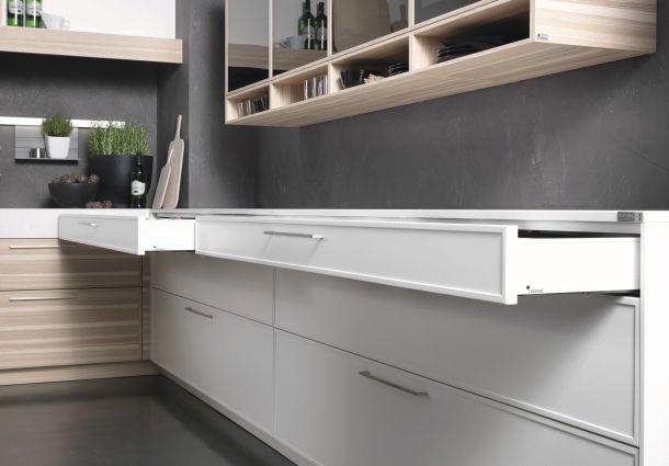 ausziehbare arbeitsplatte kuche. Black Bedroom Furniture Sets. Home Design Ideas