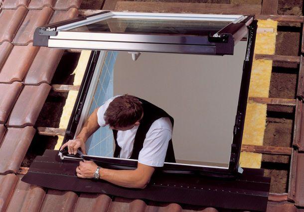 Favorit Dachflächenfenster selbst einbauen - bauemotion.de JK94
