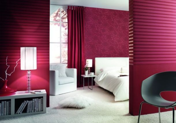 tapeten trends wei ist out wanddesign kommt. Black Bedroom Furniture Sets. Home Design Ideas