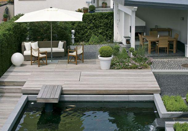 Terrassengestaltung Bodenbelag Fur Die Terrasse Bauemotion De