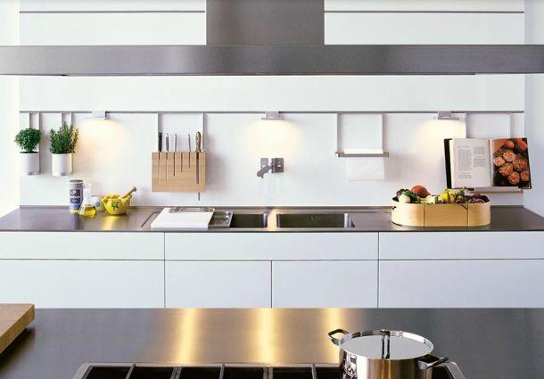 moderne k che kochen im edlen design. Black Bedroom Furniture Sets. Home Design Ideas