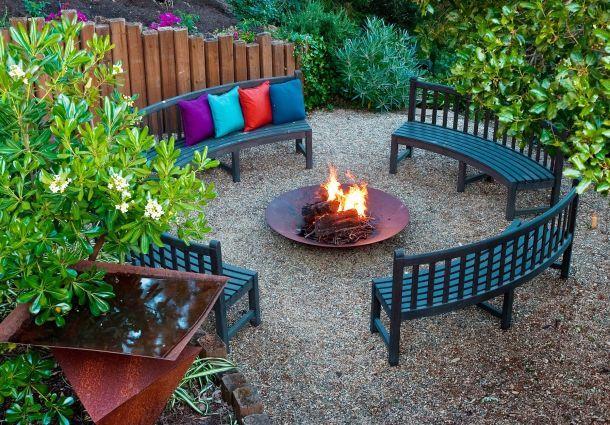 Charmant Feuerstelle Im Garten