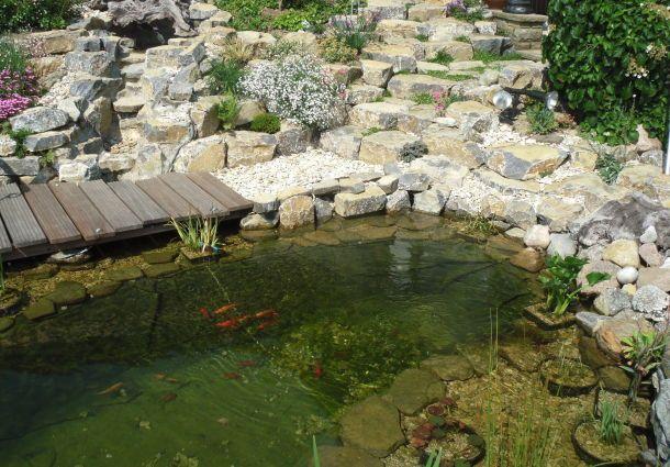 Ganz und zu Extrem Gartenteich: Wasser marsch! - bauemotion.de @KK_52