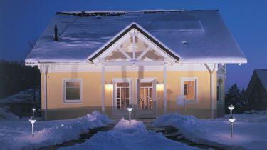 haus winterfest machen. Black Bedroom Furniture Sets. Home Design Ideas