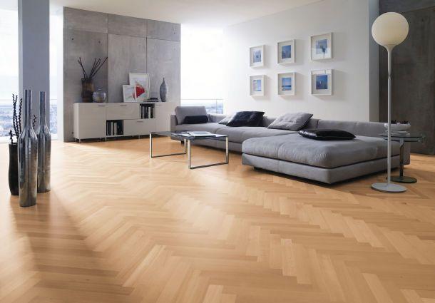 Individuelle Räume: Bodenbeläge im Wohnzimmer - bauemotion.de