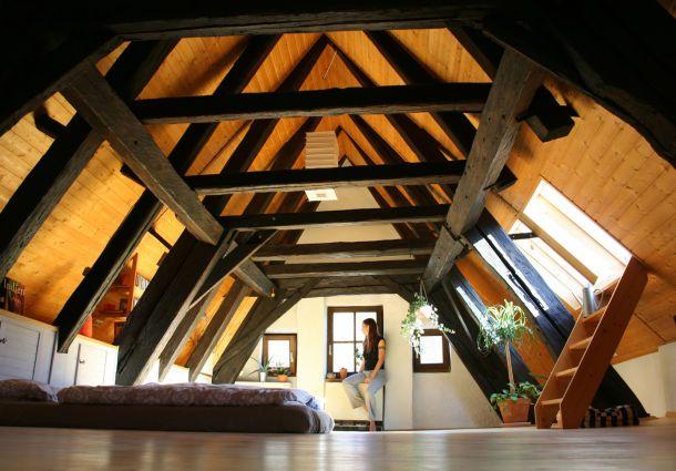 dachgeschossausbau der traum vom gem tlichen dachboden. Black Bedroom Furniture Sets. Home Design Ideas