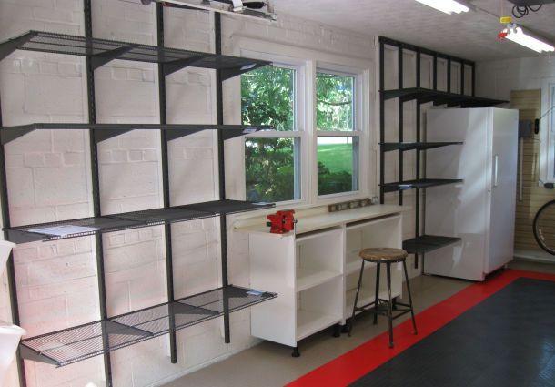 umgebaute garage stauraum ist mangelware. Black Bedroom Furniture Sets. Home Design Ideas