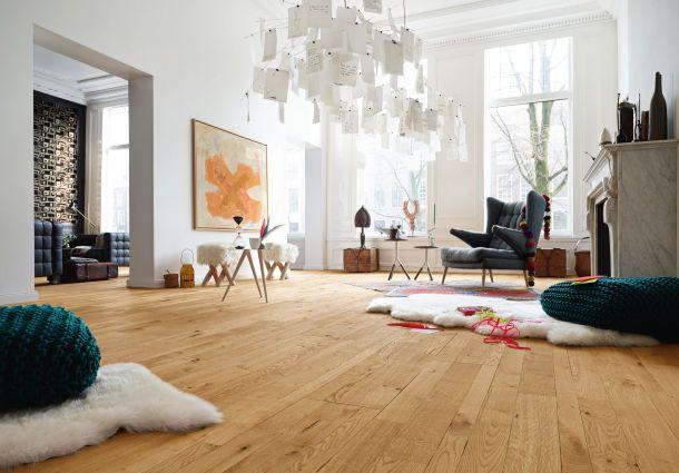 Individuelle r ume bodenbel ge im wohnzimmer - Fliesen oder laminat in der kuche ...