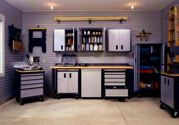 Umgebaute Garage