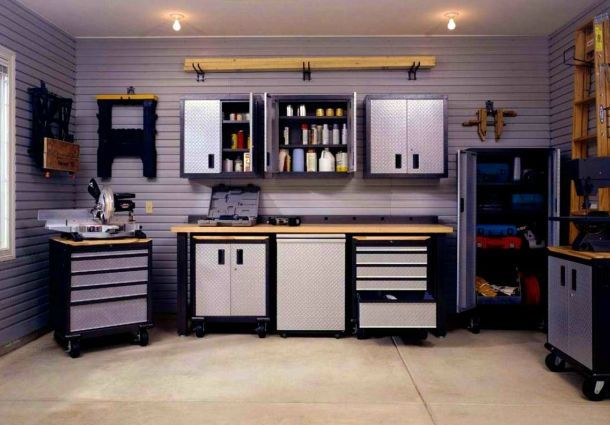 umgebaute garage die versorgungstechnik. Black Bedroom Furniture Sets. Home Design Ideas