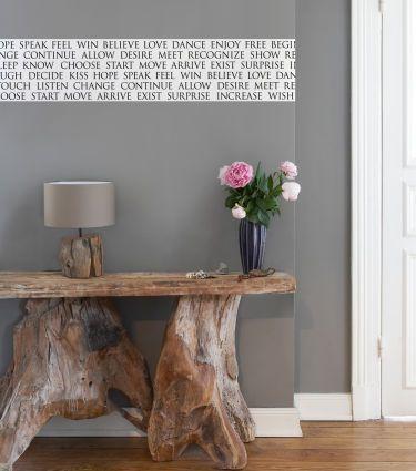 wandtattoo als stilvolle deko in wohnr umen. Black Bedroom Furniture Sets. Home Design Ideas