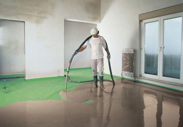Bad Fußboden Estrich ~ Estrich dämmung für ruhe und wärme in den wohnräumen bauemotion
