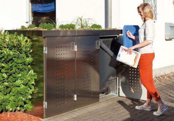 Box Für Die Mülltonnen