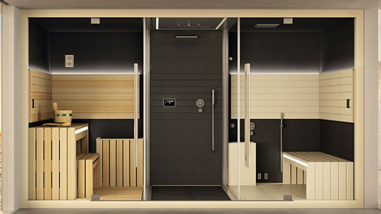 sauna sanfte w rme im dampfbad. Black Bedroom Furniture Sets. Home Design Ideas