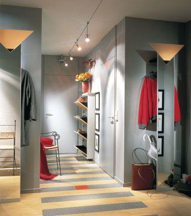 farbgestaltung im flur eingangsbereich, der flur: farbe und licht für die visitenkarte des hauses, Design ideen