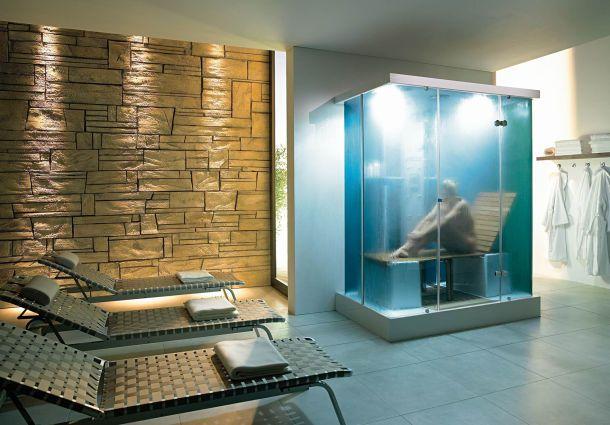 Sauna: Sanfte Wärme im Dampfbad - bauemotion.de
