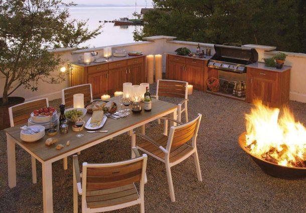 Outdoor Küche Mit Friteuse : Gartentrend outdoor küchen bauemotion