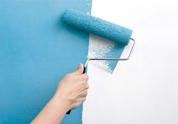 Wand streichen mit schwamm stunning wandtapeten selbst - Muss man frisch verputzte wande grundieren ...