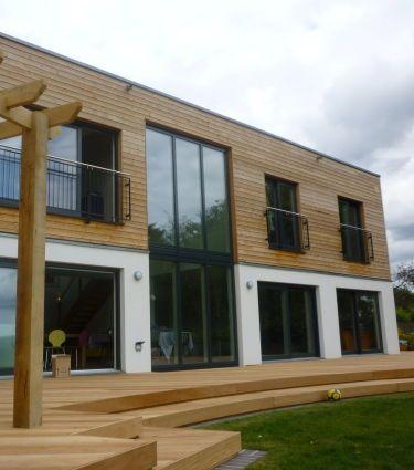 Die Holzfassade Als Alternative Zu Mauerwerk Und Putz Bauemotion De