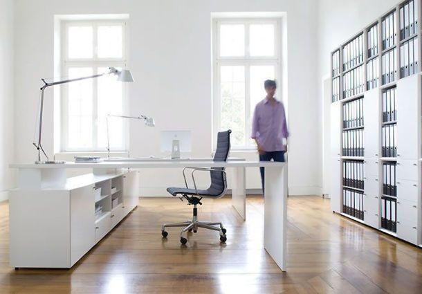 Arbeitszimmer: Ergonomische Möblierung Ist Wichtig