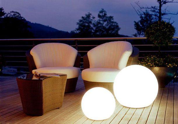 Häufig Terrassengestaltung: Schönes Licht für laue Sommerabende QD44