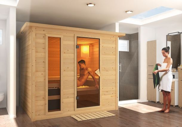 sauna bauen schritt f r schritt. Black Bedroom Furniture Sets. Home Design Ideas