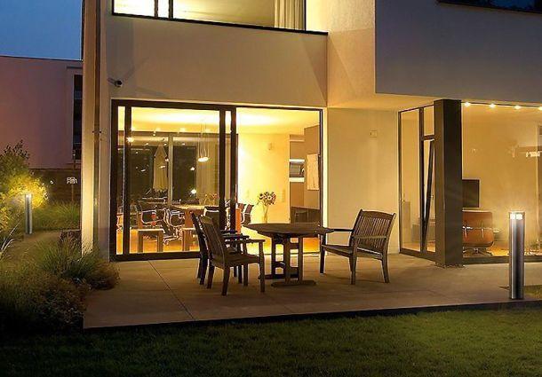 Diese Außenbeleuchtung Setzt Haus Und Garten Gekonnt In Szene