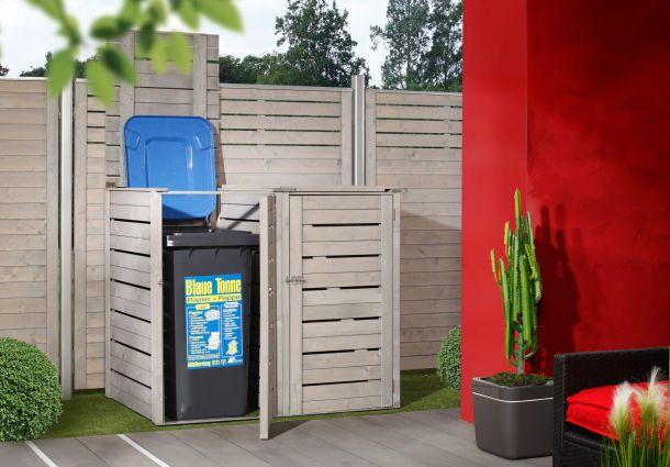 Lösungen Für Mülltonnen weg damit: mülltonnen im vorgarten - bauemotion.de