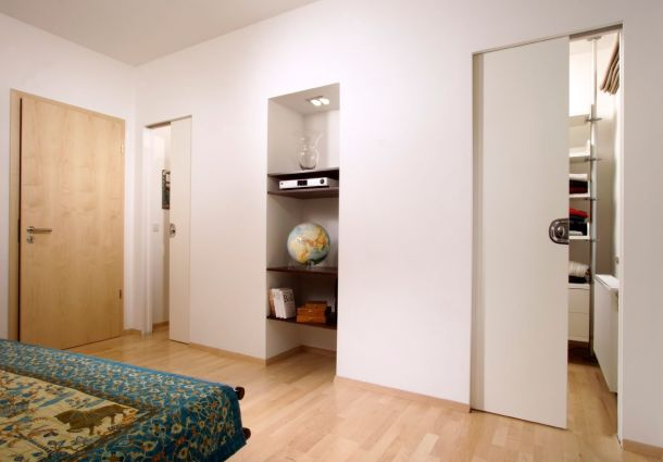 eine schiebet r bauen so einfach geht 39 s. Black Bedroom Furniture Sets. Home Design Ideas