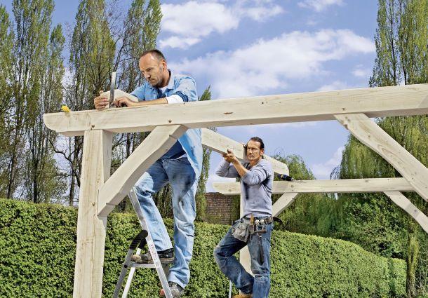 Der Unterstand Als Schutzendes Dach Bauemotion De